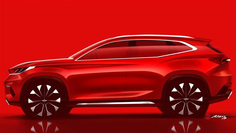 new-compact-cherys-suv-sketch