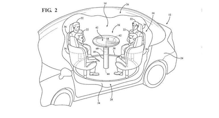 ford-patents-airbag-table-in-car