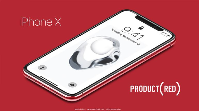 iphone-x-product-red-concept