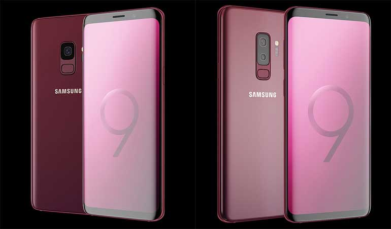 samsung-galaxy-s9-burgundy-red-color