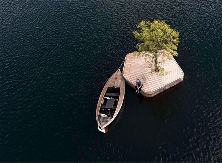 small-artificial-island