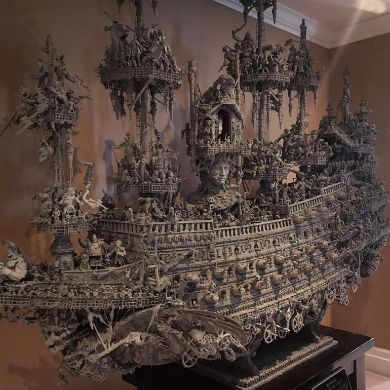handmade-ghost-ship-statue