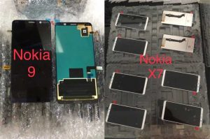 nokia-9-and-x7-leaked-front-panels-reveal-notchless-displays