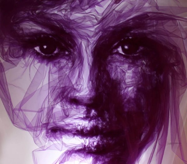 tulle-fabric-abstract-faces